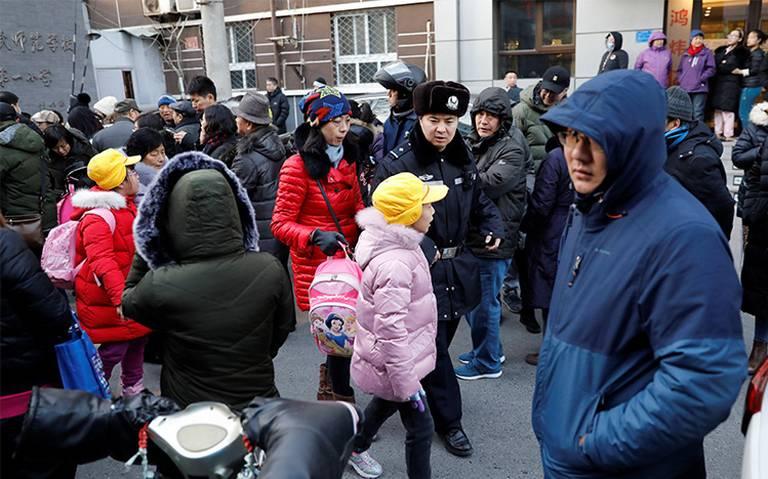 Ataque con martillo en una escuela de Pekín deja 20 niños heridos