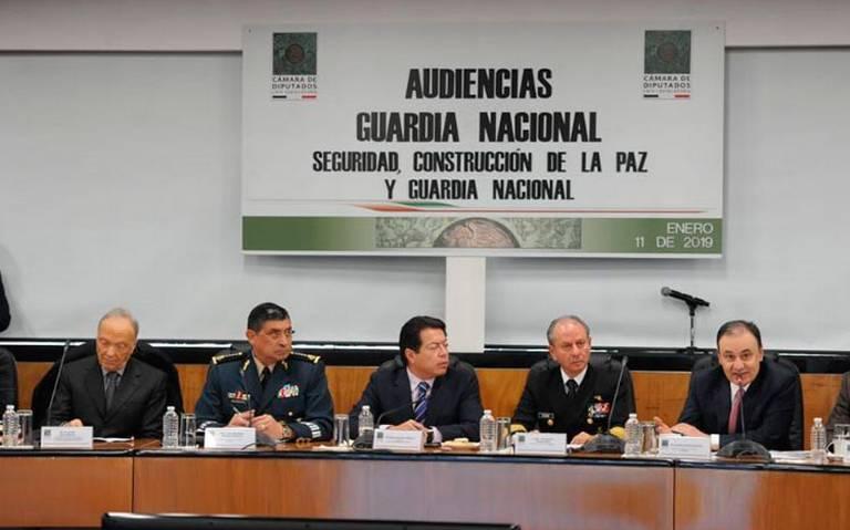 Ofrece gobierno federal que Guardia Nacional tenga un mando civil