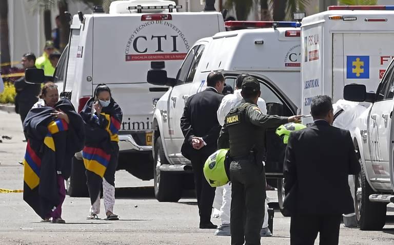 Identifican al autor del atentado con coche bomba en Bogotá