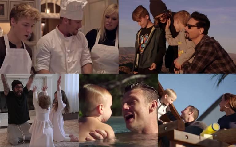 """""""No place"""", el emotivo video de los BSB que muestra ¡por primera vez su vida familiar!"""