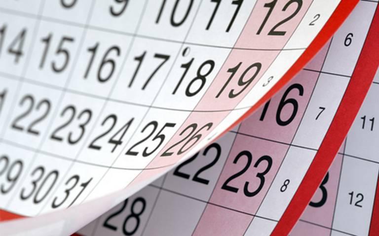 ¿Ya planeaste tus vacaciones para este 2019? Estos serán los días festivos