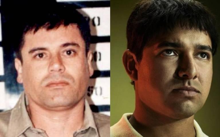 Así reaccionó El Chapo al conocer al actor que lo interpreta en Narcos México