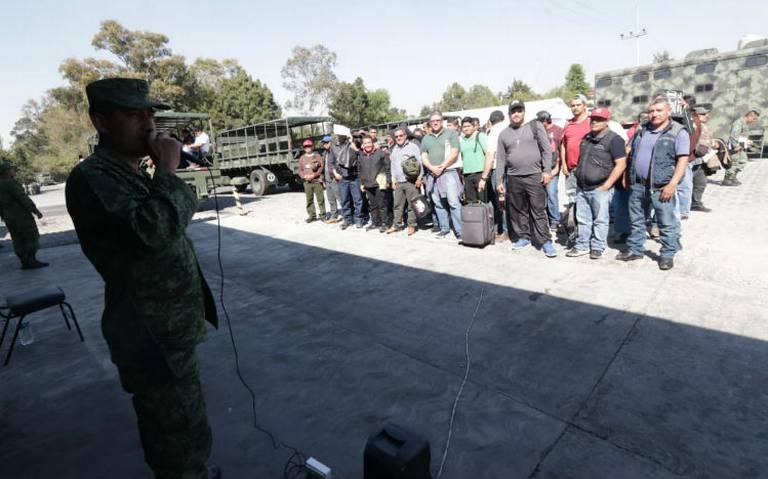Choferes para pipas de Pemex recibirán instrucción militar