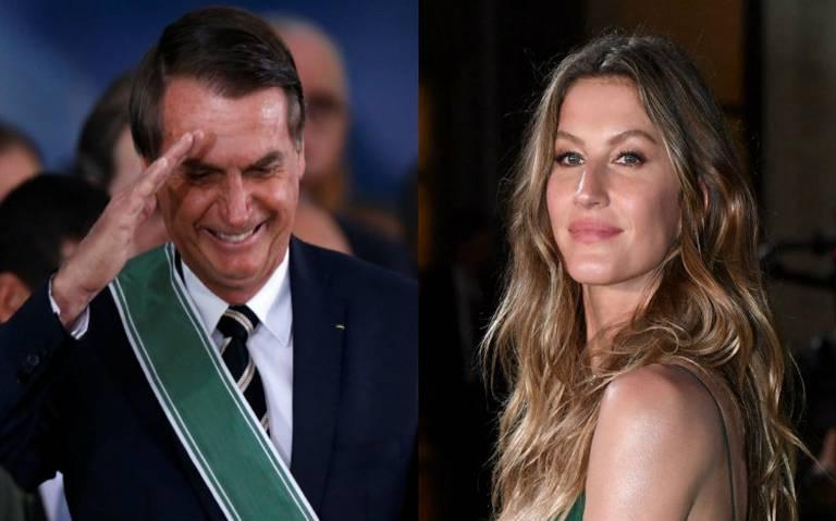 ¿Bolsonaro quiere a la top model Gisele Bündchen en su gobierno?