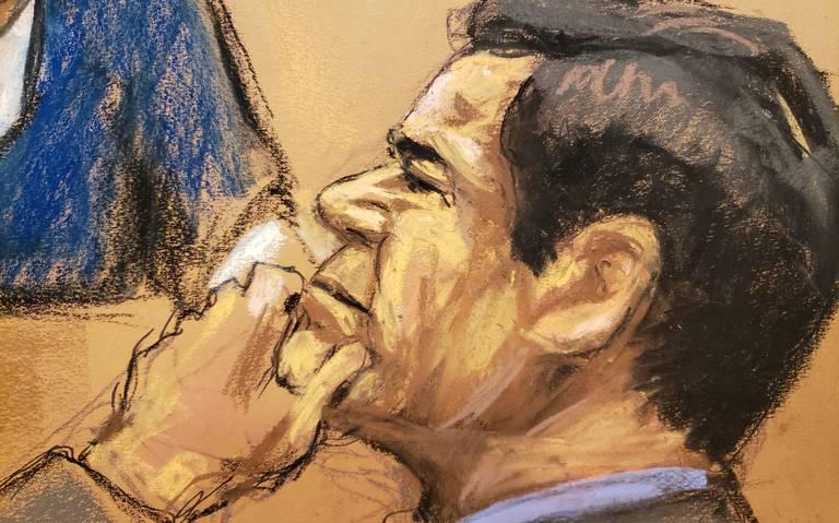 """Con solo un testigo y en 30 minutos, abogados de El Chapo lo """"defienden"""""""