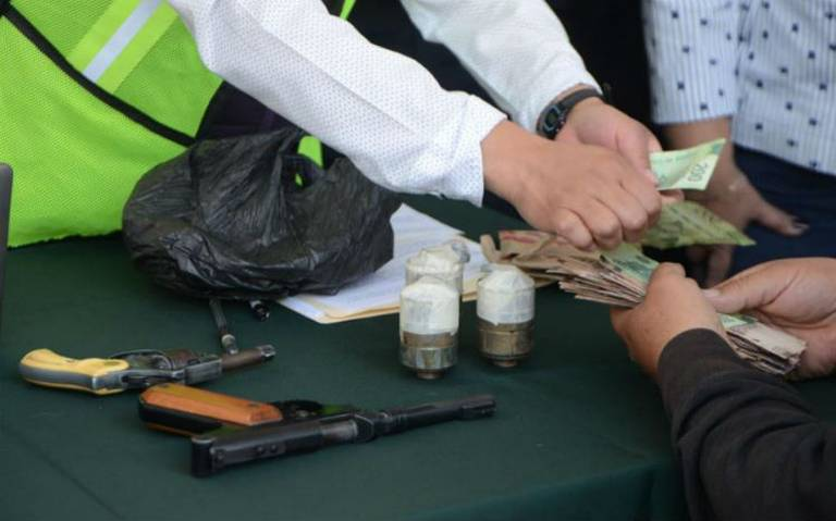 Inicia desarme voluntario en la CDMX, ofrecerán hasta 18 mil pesos por arma