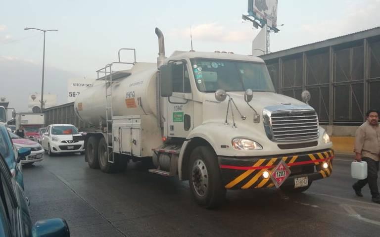 Continuará suministro en pipas y situación se normalizará a corto plazo: Pemex