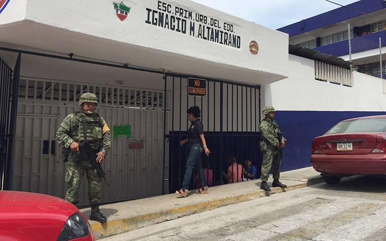 Guerrero sin clases por inseguridad, hay 600 planteles afectados