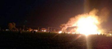 Explota ducto de Pemex en Tlahuelilpan, Hidalgo; reportan decenas de heridos