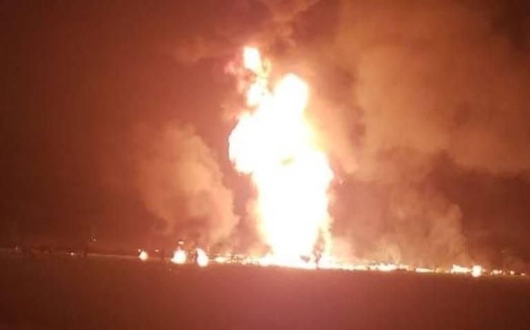 ¡Momento exacto de la explosión en Tlahuelipan que dejó decenas de muertos!