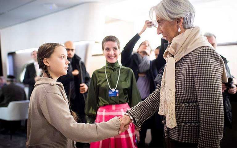Greta Thunberg, la adolescente que puso en su lugar a los políticos en Davos