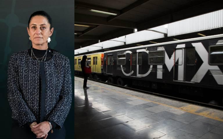 Priistas urgen a Sheinbaum corregir fallas en el Metro ante hundimientos