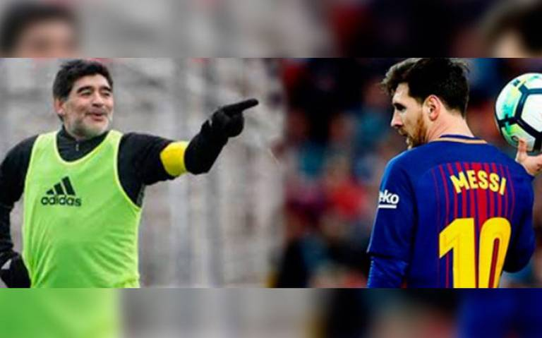 No es líder, no lo endiosemos más: Maradona arremete contra Messi