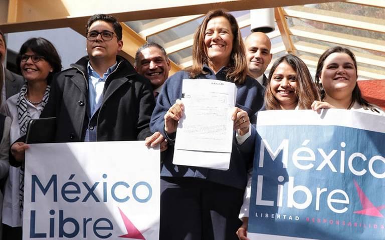 Margarita Zavala inicia proceso de registro de su nuevo partido México Libre