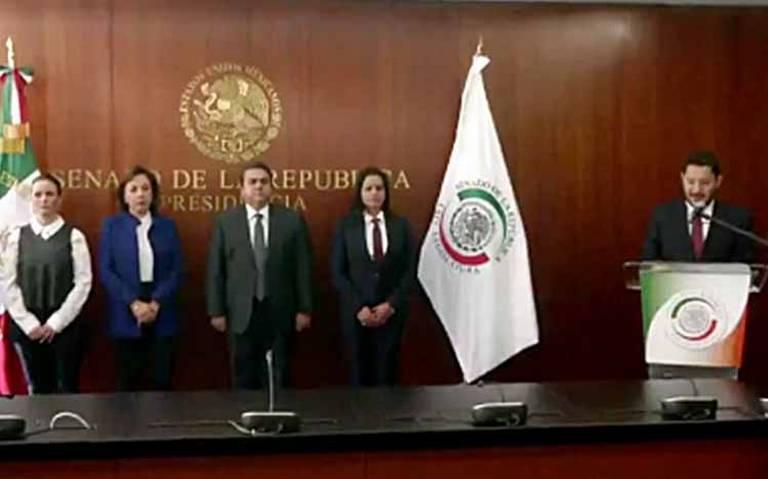 Rinde protesta en Senado suplente de Rafael Moreno Valle