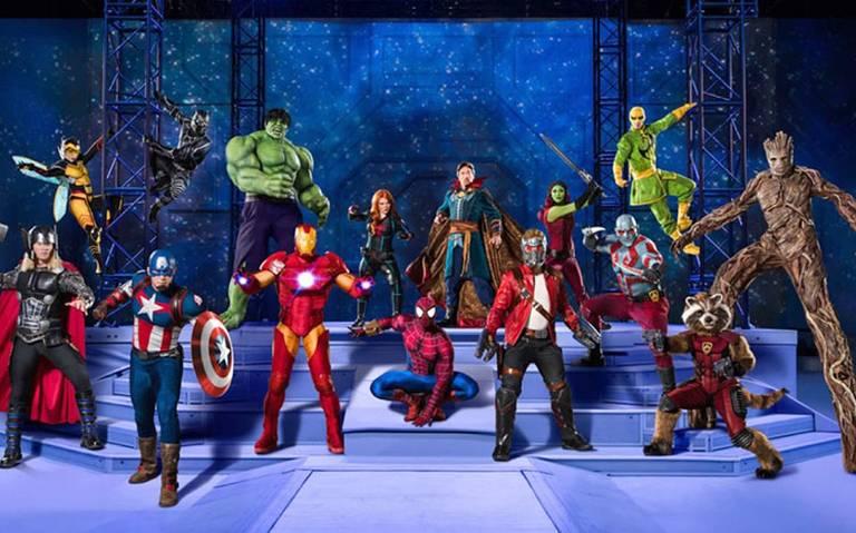 Marvel Universe Live! llega al Palacio de los Deportes
