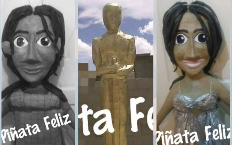 [Video] Ante su éxito, ¡Yalitza Aparicio ya tiene piñata!