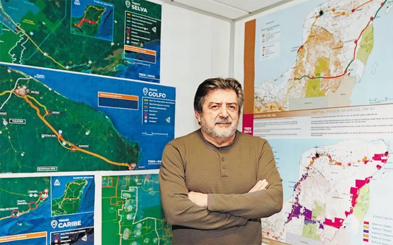 Será el Tren Maya polo de desarrollo: Jiménez Pons
