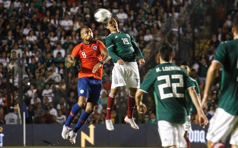 En gira por EU, Tri jugará contra Chile y Paraguay