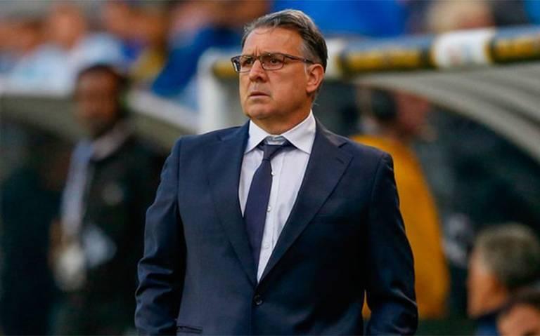 """El """"Tata"""" Martino llega a México; el lunes será presentado con el Tricolor"""
