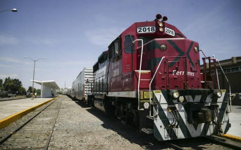 Detenidos 129 trenes por bloqueo a vías de ferrocarril en Michoacán