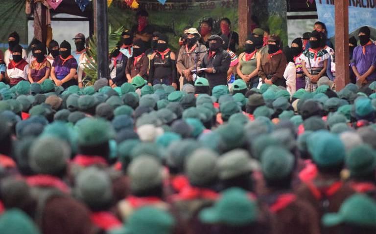 EZLN no tiene miedo al gobierno de AMLO; si son atacados responderán