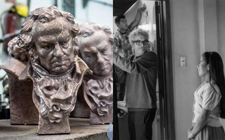 Hoy son los premios Goya y Roma de Cuarón, se alista como una de las favoritas