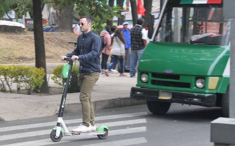Escala conflicto Semovi-Grin por scooters