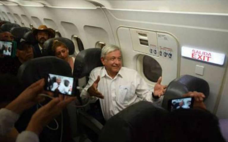 AMLO pierde vuelo de regreso a la CDMX en Veracruz