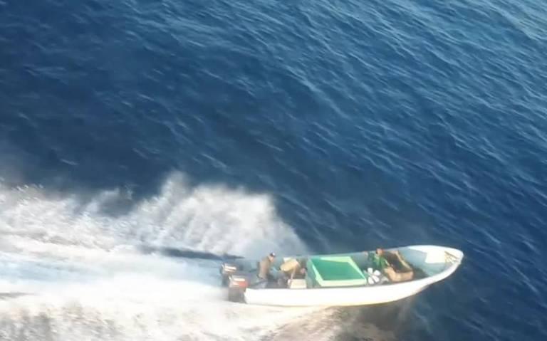 Marina incauta 720 kilos de cocaína frente a costas de Chiapas