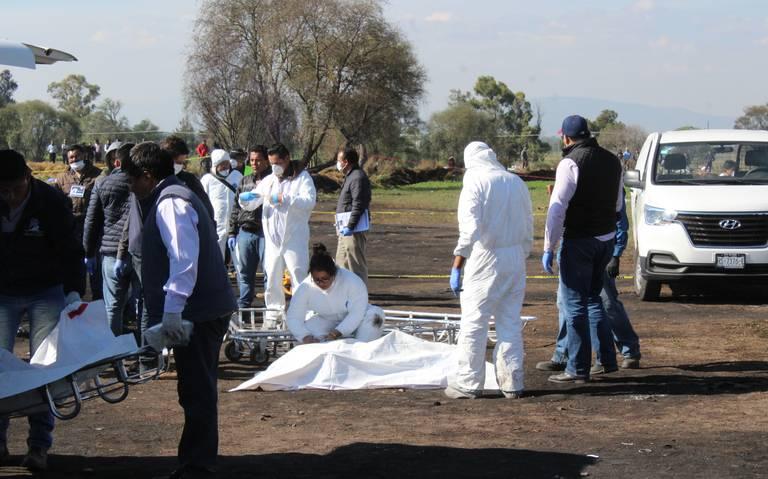 Aumenta a 124 el número de muertos por explosión en Tlahuelilpan