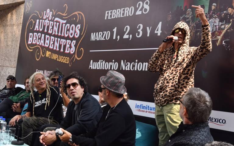 Los Auténticos traen al Auditorio su Unplugged Fiesta Nacional