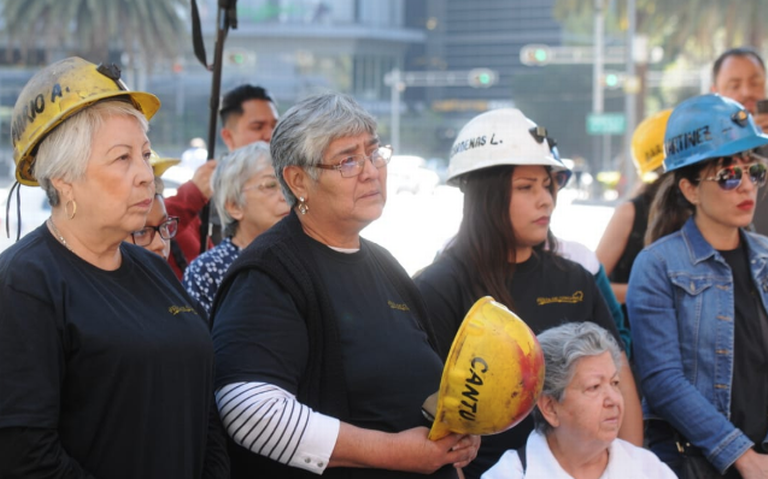 A 13 años de tragedia en Pasta de Conchos, protestan en Coahuila y CDMX