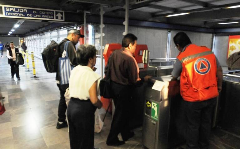 Por inseguridad, estaciones de la L2 del Metro servirán de puentes