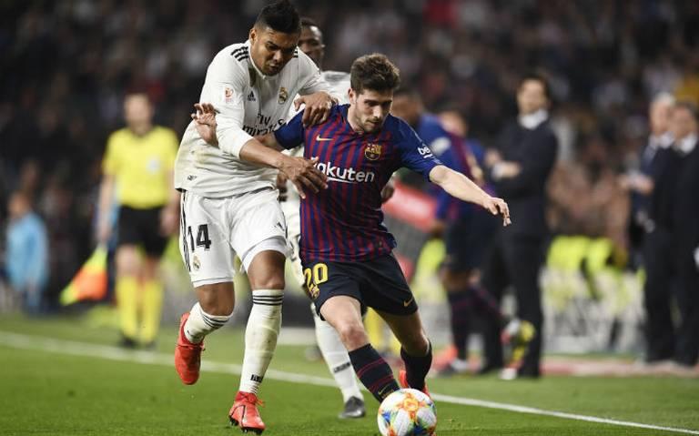 Suárez fulmina al Real Madrid y lleva al Barcelona a la final de Copa