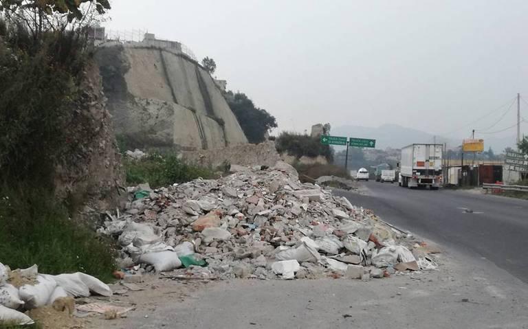 Buscan cerrar 30 tiraderos clandestinos en Naucalpan