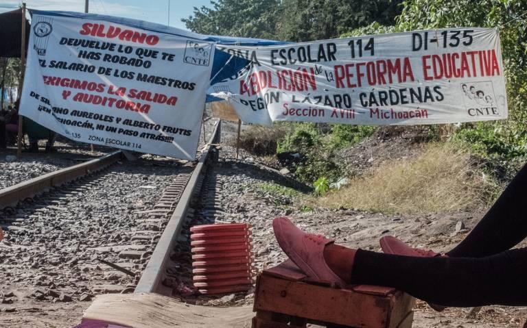CNTE busca restablecer mesa tripartita en Michoacán