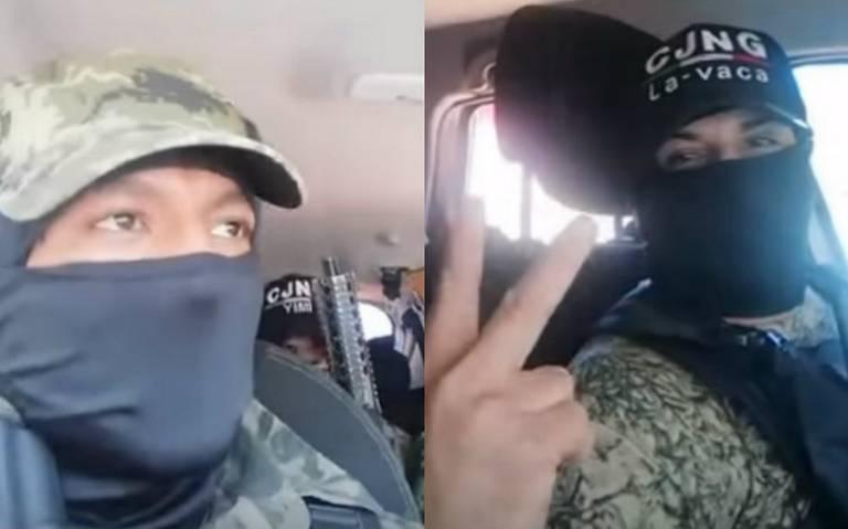 Investigan video de presuntas amenazas del CJNG a delincuentes en la GAM