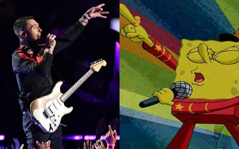 Junto a Bob Esponja, Maroon 5 prende el medio tiempo del Super Bowl