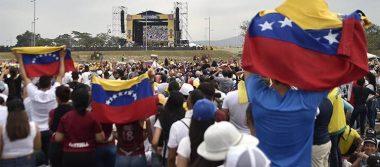 Con un mensaje de esperanza inició el concierto Venezuela Aid Live
