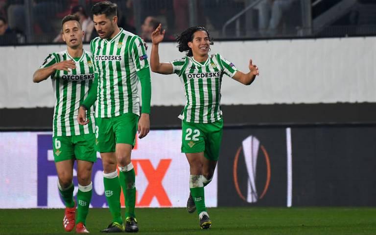 VIDEO: ¡Se estrenó Diego Lainez con el Betis!