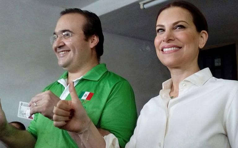 Desde la cárcel, Javier Duarte defiende a Karime Macías ante solicitud de extradición