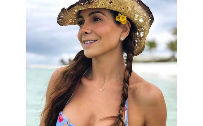 Patricia Manterola a Cannes con la cinta La nación de las mariposas