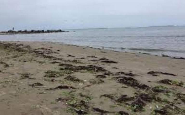 Mar se aleja del puerto, ahora de Veracruz