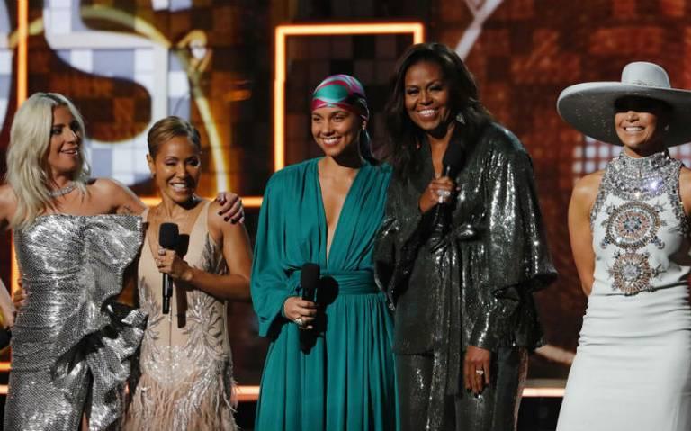 Michelle Obama lanza poderoso mensaje en los Grammy