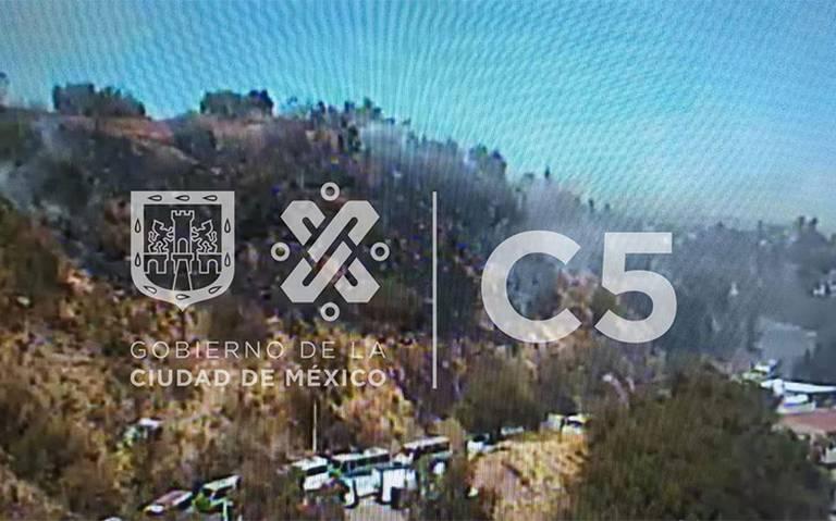 Se registra nuevo incendio de pastizales en Xochimilco