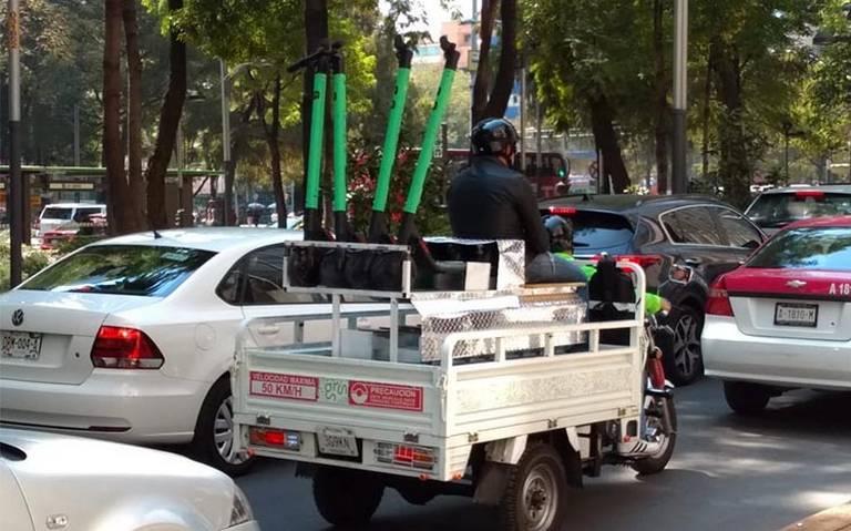 Estas son las seis empresas de scooters con permiso para operar en la CDMX