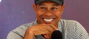 Me siento mejor que el año pasado, reveló el golfista Tiger Woods