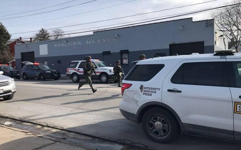 Detienen a tirador en zona industrial de Aurora, Chicago