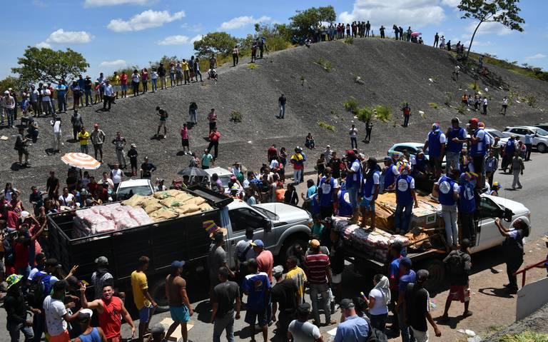 Ingresó a Venezuela primer cargamento de ayuda desde Brasil: Guaidó